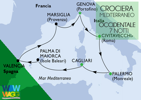 MSC FANTASIA - CROCIERA MEDITERRANEO OCCIDENTALE  GENOVA - OFFERTA MSC CROCIERE 2020